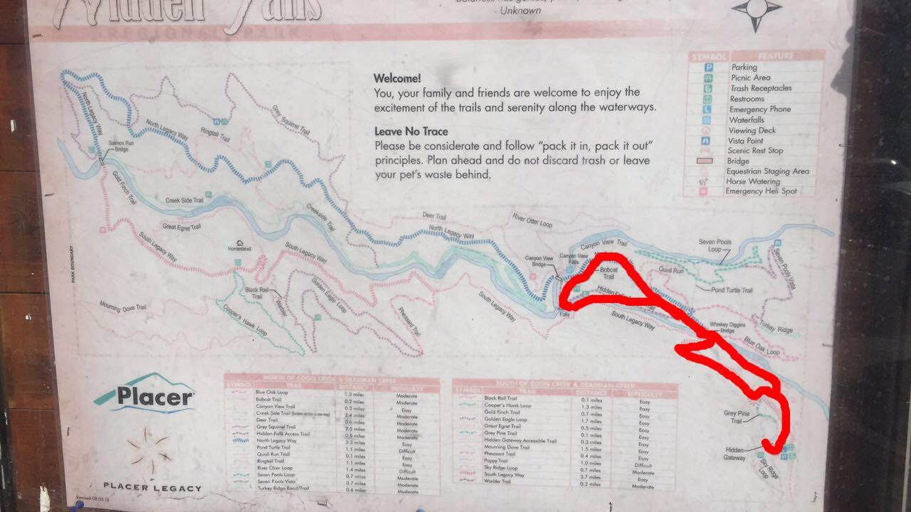 Hidden Falls Regional Park – Hiker ❀ Hustle on hidden falls adventure park map, auburn ca trail map, auburn california waterfall trails,